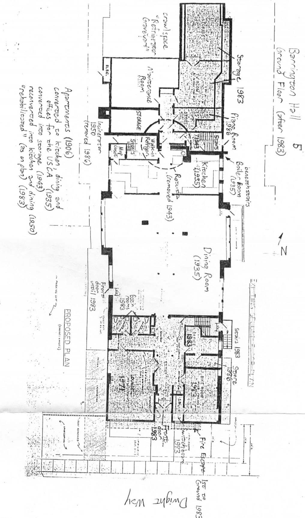 barrington hall architectural history